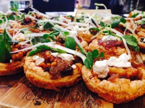 Caramelised Onion and Goat Cheese Tarts - to die for!