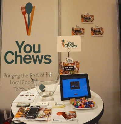 The Chewsy Crew's set up at the ad:tech Australia conference last week