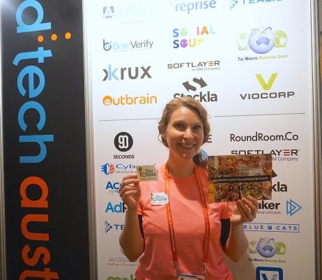Liz Kaelin, founder of You Chews at ad:tech Australia